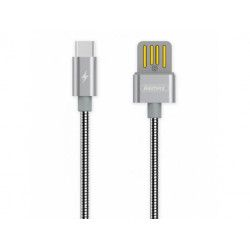 KABEL USB REMAX RC-080a USB TYP C SZARY