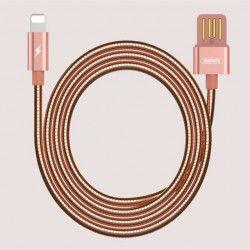 KABEL USB REMAX RC-080i LIGHTNING ZŁOTY