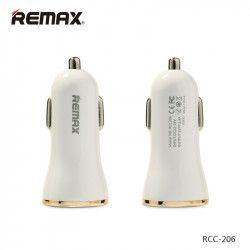 ŁADOWARKA SAMOCHODOWA REMAX DOLFIN RCC206 3XUSB 3.4A ZŁOTA