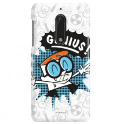 ETUI NA TELEFON NOKIA 5 TA-1024 CARTOON NETWORK DX105 CLASSIC LABORATORIUM DEXTERA