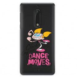 NOKIA 5 ETUI CARTOON NETWORK DX290 CLASSIC LABORATORIUM DEXTERA