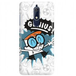 ETUI NA TELEFON NOKIA 5.1 TA-1075 CARTOON NETWORK DX105 CLASSIC LABORATORIUM DEXTERA