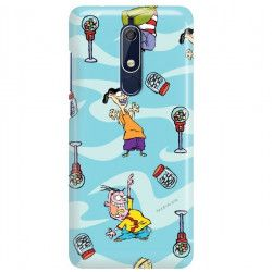 NOKIA 5.1 ETUI CARTOON NETWORK ED101 CLASSIC Ed, Edd i Eddy