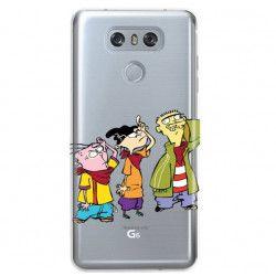 ETUI NA TELEFON LG G6 H870 CARTOON NETWORK ED122 CLASSIC Ed, Edd i Eddy