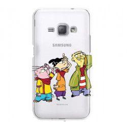 ETUI NA TELEFON SAMSUNG GALAXY J1 ACE J110 CARTOON NETWORK ED122 CLASSIC Ed, Edd i Eddy
