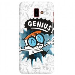 ETUI NA TELEFON SAMSUNG GALAXY J6 PLUS 2018 J610 CARTOON NETWORK DX105 CLASSIC LABORATORIUM DEXTERA