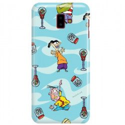 ETUI NA TELEFON SAMSUNG GALAXY J6 PLUS 2018 J610 CARTOON NETWORK ED101 CLASSIC Ed, Edd i Eddy