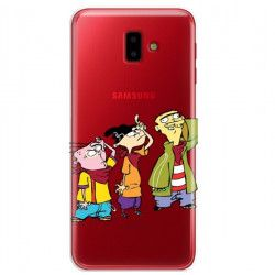 ETUI NA TELEFON SAMSUNG GALAXY J6 PLUS 2018 J610 CARTOON NETWORK ED122 CLASSIC Ed, Edd i Eddy