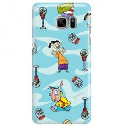 ETUI NA TELEFON SAMSUNG GALAXY NOTE 7 CARTOON NETWORK ED101 CLASSIC Ed, Edd i Eddy
