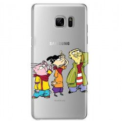 ETUI NA TELEFON SAMSUNG GALAXY NOTE 7 CARTOON NETWORK ED122 CLASSIC Ed, Edd i Eddy
