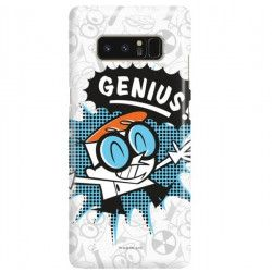 ETUI NA TELEFON SAMSUNG GALAXY NOTE 8 N950 CARTOON NETWORK DX105 CLASSIC LABORATORIUM DEXTERA