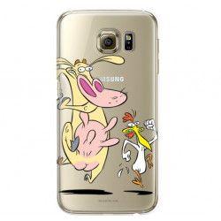 ETUI NA TELEFON SAMSUNG GALAXY S6 G920 CARTOON NETWORK KK176 CLASSIC KROWA I KURCZAK