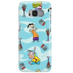 ETUI NA TELEFON SAMSUNG GALAXY S8 PLUS G955 CARTOON NETWORK ED101 CLASSIC Ed, Edd i Eddy