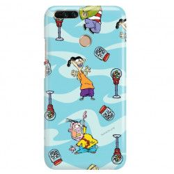 ETUI NA TELEFON HUAWEI HONOR V9 CARTOON NETWORK ED101 CLASSIC Ed, Edd i Eddy