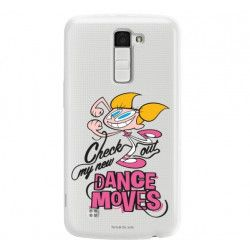ETUI NA TELEFON LG K10 K430 CARTOON NETWORK DX290 CLASSIC LABORATORIUM DEXTERA