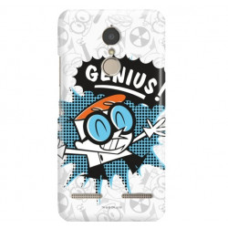 LENOVO K6 ETUI CARTOON NETWORK DX105 CLASSIC LABORATORIUM DEXTERA