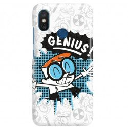 ETUI NA TELEFON XIAOMI Mi8 CARTOON NETWORK DX105 CLASSIC LABORATORIUM DEXTERA