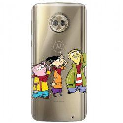 ETUI NA TELEFON LENOVO MOTO G6 PLUS CARTOON NETWORK ED122 CLASSIC Ed, Edd i Eddy