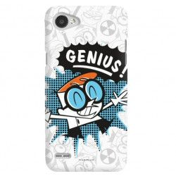 ETUI NA TELEFON LG Q6 CARTOON NETWORK DX105 CLASSIC LABORATORIUM DEXTERA