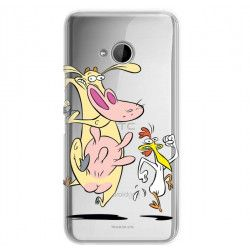 ETUI NA TELEFON HTC U11 LIFE CARTOON NETWORK KK176 CLASSIC KROWA I KURCZAK