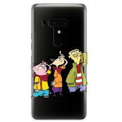ETUI NA TELEFON HTC U12 PLUS CARTOON NETWORK ED122 CLASSIC Ed, Edd i Eddy