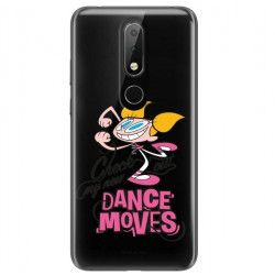 ETUI NA TELEFON NOKIA X6 2018 RM-559 CARTOON NETWORK DX290 CLASSIC LABORATORIUM DEXTERA