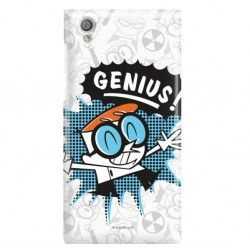 ETUI NA TELEFON SONY XPERIA L1 G3311 CARTOON NETWORK DX105 CLASSIC LABORATORIUM DEXTERA