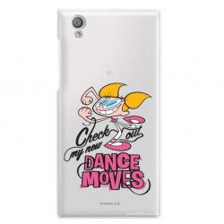 ETUI NA TELEFON SONY XPERIA L1 G3311 CARTOON NETWORK DX290 CLASSIC LABORATORIUM DEXTERA