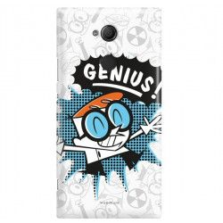 ETUI NA TELEFON SONY XPERIA XA2 ULTRA H3213 CARTOON NETWORK DX105 CLASSIC LABORATORIUM DEXTERA