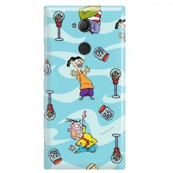 SONY XPERIA XA2 ULTRA ETUI CARTOON NETWORK ED101 CLASSIC Ed, Edd i Eddy