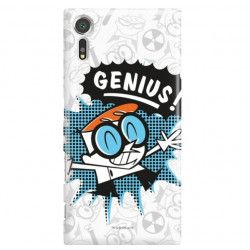 ETUI NA TELEFON SONY XPERIA XZs G8231 CARTOON NETWORK DX105 CLASSIC LABORATORIUM DEXTERA