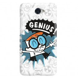 ETUI NA TELEFON HUAWEI Y7 CARTOON NETWORK DX105 CLASSIC LABORATORIUM DEXTERA