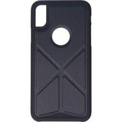 FOLDABLE STAND ETUI NA TELEFON IPHONE X XS A1901/A1920 STOJAK GRANATOWY
