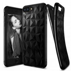 "ETUI GEOMETRIC IPHONE 7 4.7"" 8 4.7'' CZARNY"