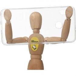 CLEAR 0.3mm ETUI NA TELEFON HUAWEI HONOR 8X JSN-AL00 TRANSPARENTNY