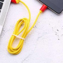 KABEL USB REMAX FRYTKI RC-114a TYP C 1m ŻÓŁTY