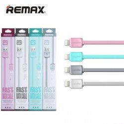 KABEL USB REMAX RC-008i LIGHTNING SZARY