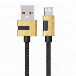 KABEL USB REMAX RC-089i LIGHTNING 1m CZARNY