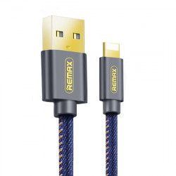 KABEL USB REMAX RC-096i LIGHTNING 1,2m NIEBIESKI