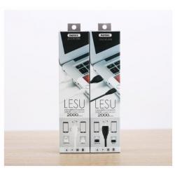 KABEL USB REMAX RC-050t 2w1 MICRO LIGHTNING 2m CZARNY
