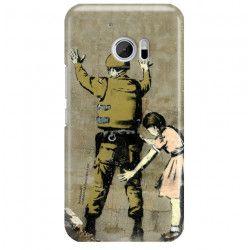 ETUI NA TELEFON HTC 10 BANKSY WZÓR BK135