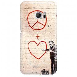 ETUI NA TELEFON HTC 10 BANKSY WZÓR BK146