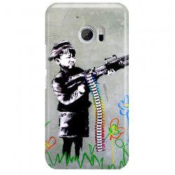 ETUI NA TELEFON HTC 10 BANKSY WZÓR BK162