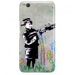 ETUI NA TELEFON HTC ONE X9 BANKSY WZÓR BK162