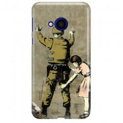 ETUI NA TELEFON HTC U PLAY BANKSY WZÓR BK135