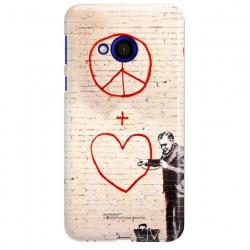 ETUI NA TELEFON HTC U PLAY BANKSY WZÓR BK146