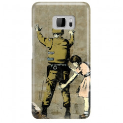ETUI NA TELEFON HTC U ULTRA BANKSY WZÓR BK135