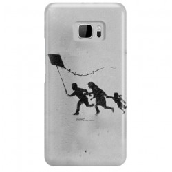 ETUI NA TELEFON HTC U ULTRA BANKSY WZÓR BK168
