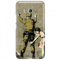 ETUI NA TELEFON HTC U11 BANKSY WZÓR BK135