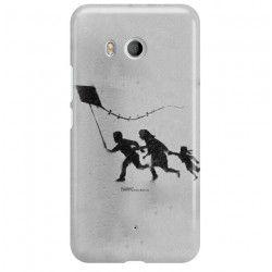 ETUI NA TELEFON HTC U11 BANKSY WZÓR BK168